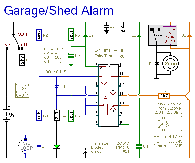 a shed garage alarm2_orig wiring diagram for house alarm system gandul 45 77 79 119 wiring a shed from a house diagram at gsmx.co