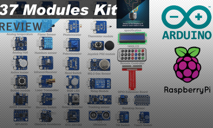 [VIDEO] 37 Sensors and Modules Kit for Raspberry Pi and Arduino