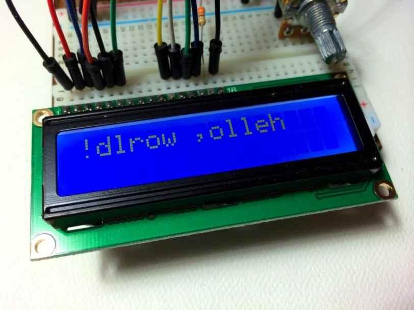 Arduino LCD LiquidCrystal