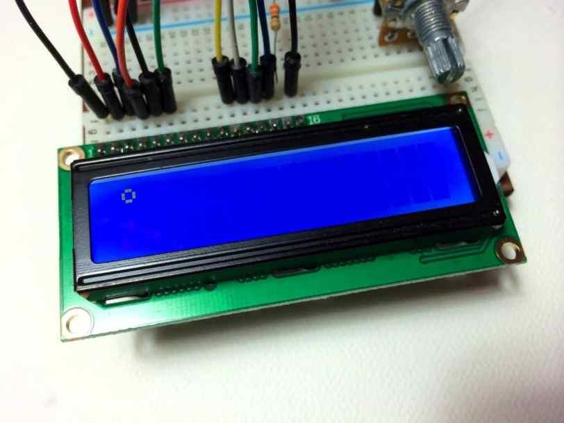 Arduino LCD Programming degree symbol