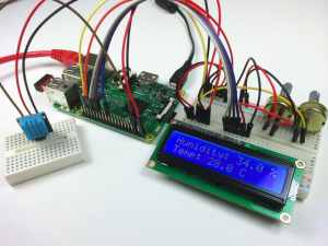 How to Set Up the DHT11 Humidity Sensor on the Raspberry Pi - DHT11 Output to LCD