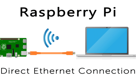 How to Connect to a Raspberry Pi Directly with an Ethernet Cable