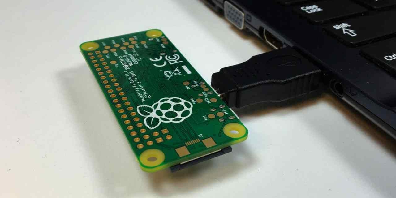 Raspberry Pi Zero USB/Ethernet Gadget Tutorial