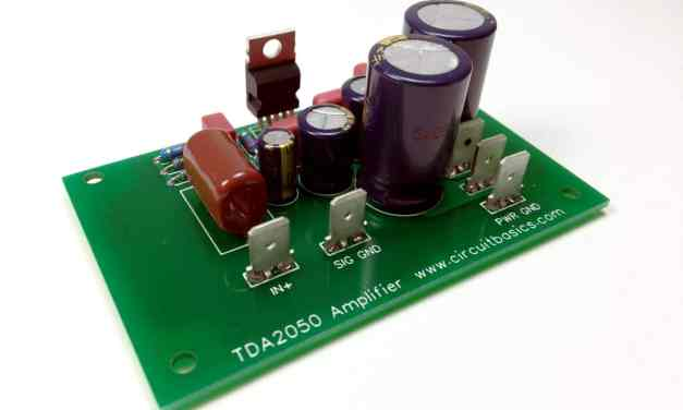How to Design and Build an Amplifier With the TDA2050