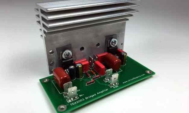 A Guide for Building TDA2003 Bridged and Stereo Amplifiers