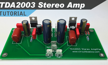 [VIDEO] TDA2003 Stereo Amplifier Design Tutorial