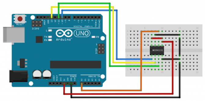 how to use spi communication on the arduino  circuit basics