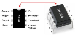 555 Timer IC   Circuit Diagram