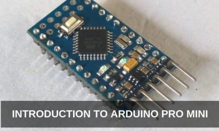 Introduction to Arduino Pro Mini