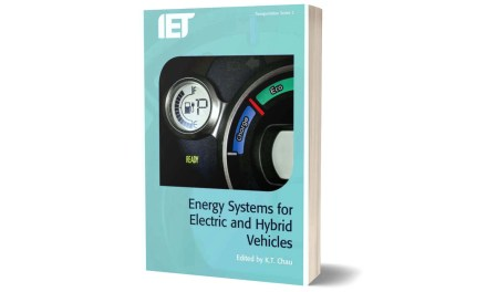 Energy Systems for Electric & Hybrid Vehicles by K T Chau