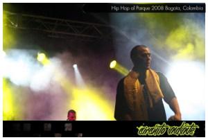 CircuitoAndante en Hip Hop al Parque, Bogotá, Colombia, 2008
