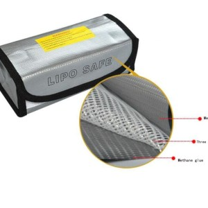 LiPo Battery Safety Bag bag LiPo Battery Guard Sack charge battery protection bag for LiPo battery 185 * 75 * 60mm
