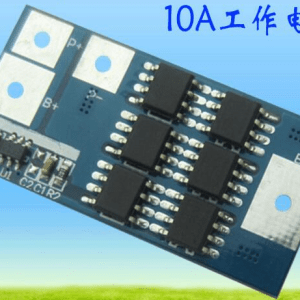 1S 10A high-current lithium Batteria protection board, 3.7V for 1 series lithium Batteria protection board