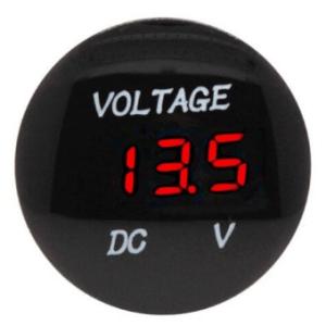 Voltmetro LED Digitale instrumentation modified DC 12v24V