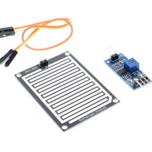 raindrops Modulo / Sensore, Pioggia Modulo / Sensore, weather Modulo, a large area of raindrops Modulo