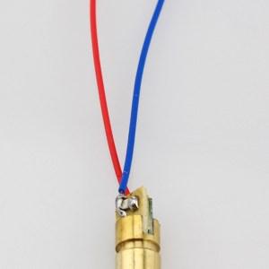 650nm 5mw 5V laser head, laser Diodo, dot, copper semiconductor laser tube, 6MM OD