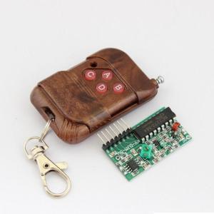 2262/2272 four-way wireless Controllo Remoto kit M4 non-lock Ricevitore plate , four-bottone wireless Controllo Remoto