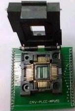 PLCC44 to DIP44? IC test socket Adattatore, Adattatore seat convert seat