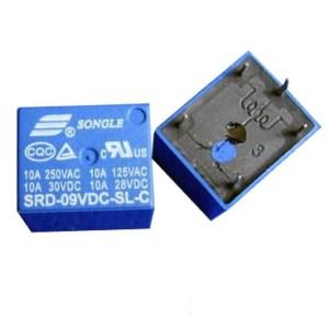 SRD-9VDC-SL-C Songle Relè T73-9V 5pins
