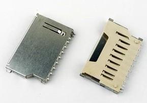 Scheda SD Connettore, memory card Connettore sub