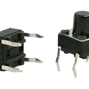 4 Pezzi 6 * 6 * 8 Interruttore touch Pulsante bottone Pulsante Pulsante