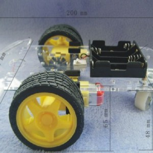 Smart car Telaio tracing car with Cinghia encoder and strong magneto