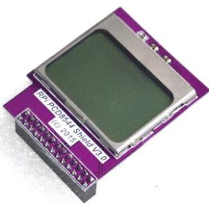 CPU Memory Mini Schermo Modulo 84 x 48 PCD8544 Matrix LCD Shield w/ Backlight for Raspberry Pi