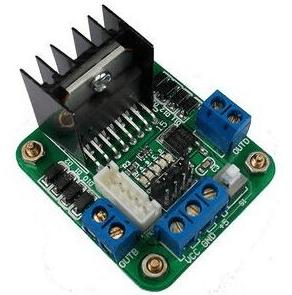 Stepper Motore Drive Controller Board Modulo L298N Dual H Bridge DC per Arduino