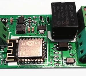 ESP8266 WIFI network Relè