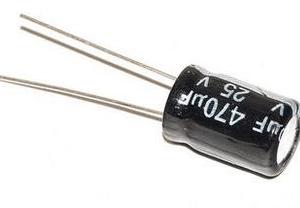 10 Pezzi Electrolytic Condensatore 25V 470UF 8*12