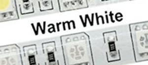 5050 Warm White SMD 12V 60Leds/Meter IP35 Not-Impermeabile 5M/Reel , Price For 5M/Reel
