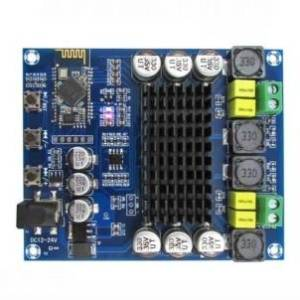 XH-M548 Scheda amplificatore di potenza digitale Bluetooth dual channel 120W TPA3116D2 Scheda amplificatore audio digitale Bluet