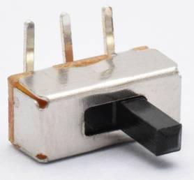 20 Pezzi SS12D03 / 1P2T Interruttore a levetta / Interruttore a pin piega
