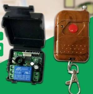 Modulo relè a canale singolo CC 12V DC Ricevitore interruttore wireless RF + Kit telecomando trasmettitore fai da te