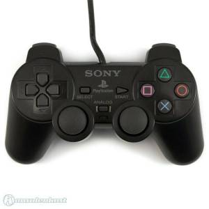 Controller PlayStation 2 Nero gamepad analogico