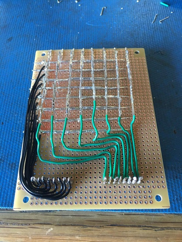 anode wires matrix