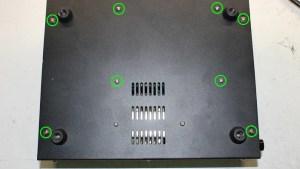 Powered BreadBboard-272a bottom side screws