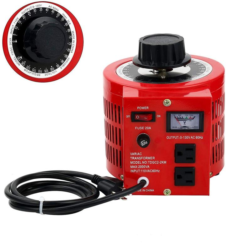 Variable Transformer TDGC2-3D with Digital Display & 30 Amp Max Output