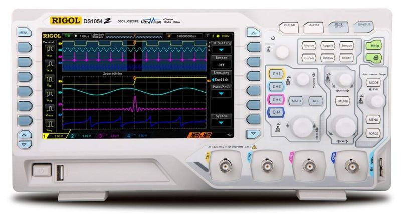 Rigol DS1054Z Best Portable and Handheld Oscilloscopes