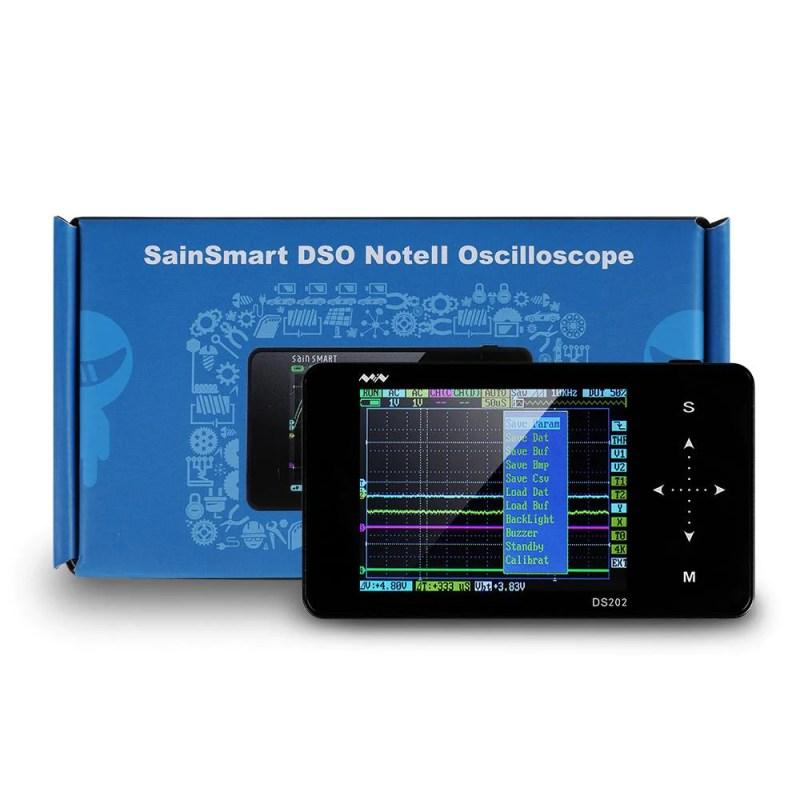 SainSmart Nano DSO202 Best Portable and Handheld Oscilloscopes