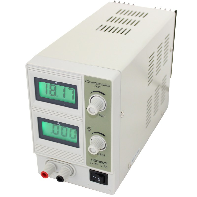 18 Volt CSI1802X Linear Bench Power Supply