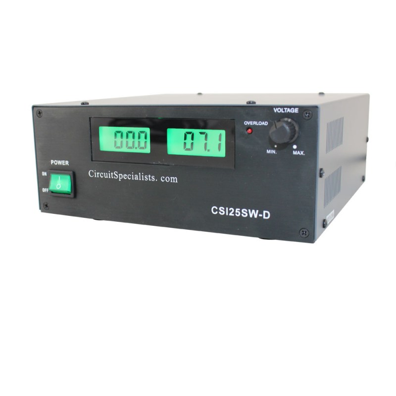 CSI25SW-D Benchtop Switching Power Supply