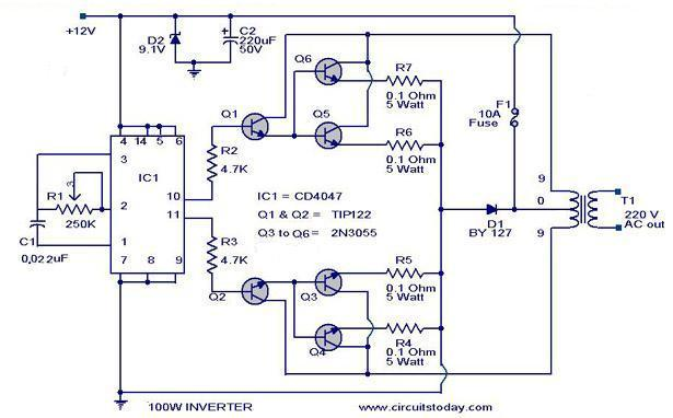 100-w-inverter-circuit