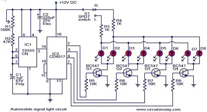 Basic turn signal wiring diagram harley turn signal wiring diagram basic turn signal wiring diagram wiring diagram universal turn signal switch schematic image, Signal Stat Wiring-Diagram