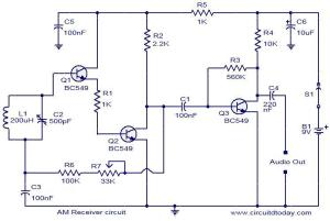 AM receiver circuit  Electronic Circuits and Diagrams