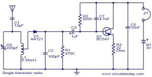 Simple RF FM receiver | Electronics Forum (Circuits