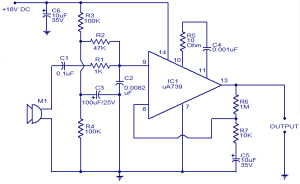 Preamplifier for dynamic microphones  Electronic