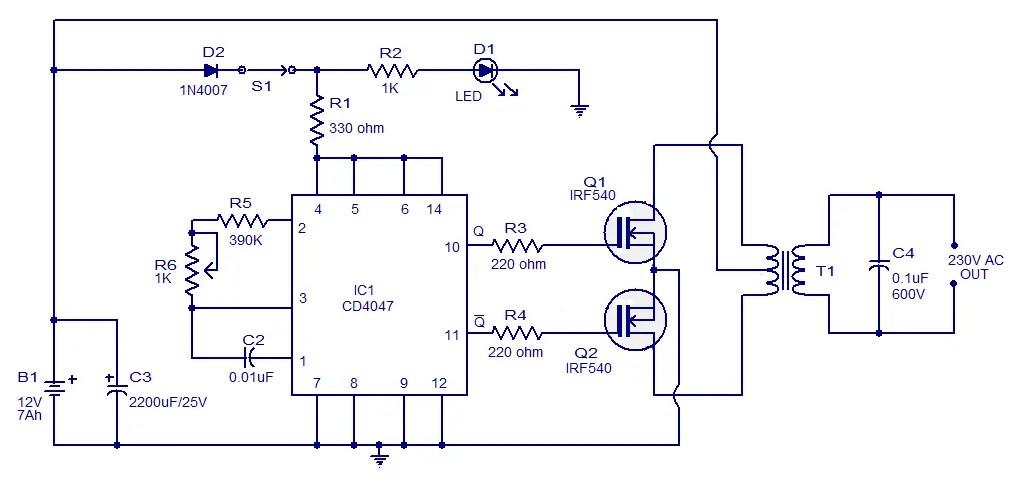 ... home ups inverter circuit diagram pdf periodic u0026 diagrams science Inverter Wiring Diagram Pdf simple 100w  sc 1 st  Wiring Diagram Database : wiring diagram for inverter - yogabreezes.com