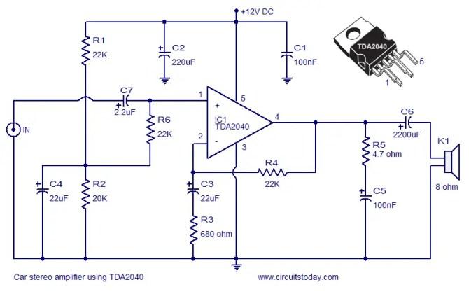 car subwoofer amplifier diagram  general wiring diagram