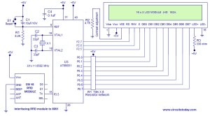 RFID Door Access Control System using 8051 Microcontroller